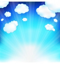 skyscape vector image vector image