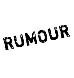 Rumour rubber stamp vector