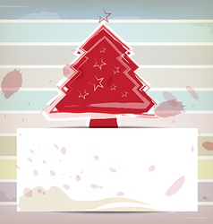 Christmas design and pastel color background vector