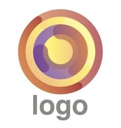 Circles logo concept vector
