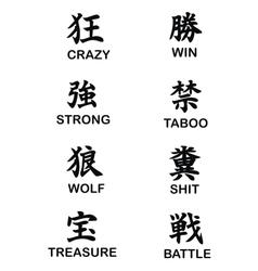 Kanji word vector