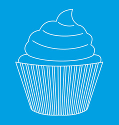 Maffin icon outline style vector