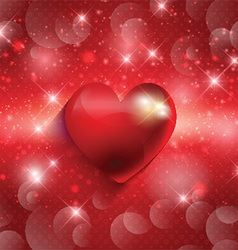 valentines heart background 1612 vector image vector image