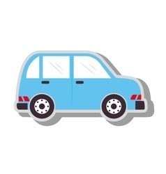 Car vehicle transport icon vector