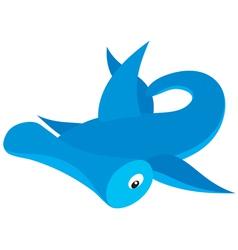 hammer-headed shark vector image