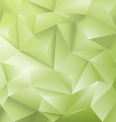 Crystal Green Background vector image