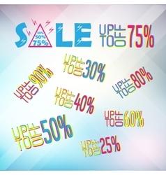 Big set of sale banner elemnts vector