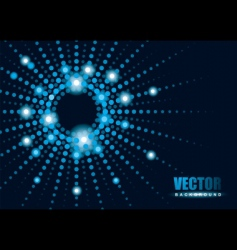 blur lights background vector image vector image