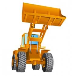 construction machine vector image