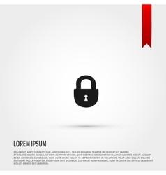 Lock icon lock symbol template for design vector