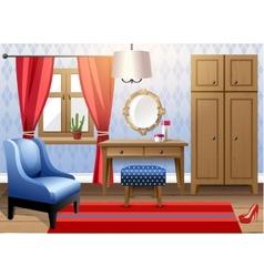 modern interior vector image