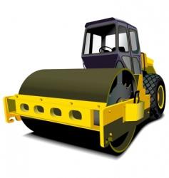 Road roller vector
