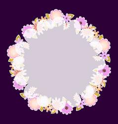 template for card weddingparty invitation vector image vector image