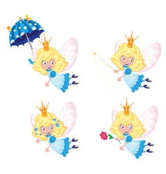 fairy funny set vector image