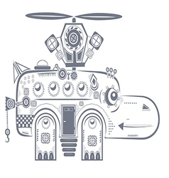 mechanical behemoth vector image
