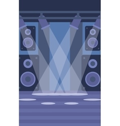 Background of night club vector