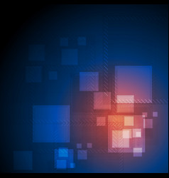 Shiny abstract futuristic technical background vector