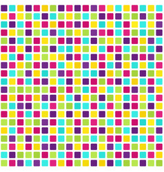 square pattern seamless tile background vector image