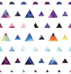 Triangles seamless pattern vector