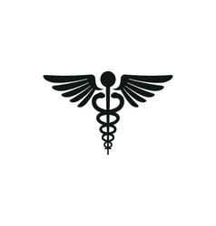 Simple black medical symbol style vector