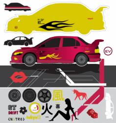 pimp my car vector image
