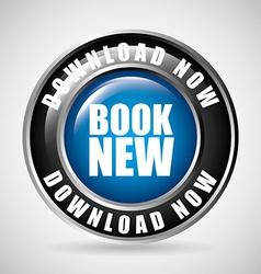 book now button vector image