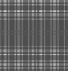 Gray tartan seamless background vector