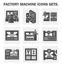 Machine icon vector