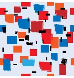 Seamless cubism vector