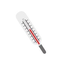 Thermometer healthcare tool vector
