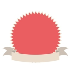 pink seal stamp vector image