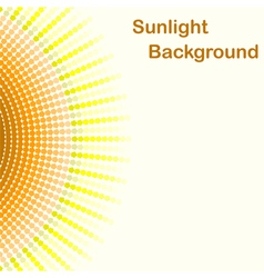 Colorful sunlight background vector