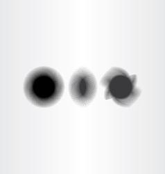 Black smudge background design elements vector