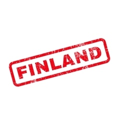 Finland text rubber stamp vector