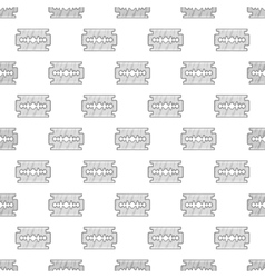 Blade seamless pattern vector image