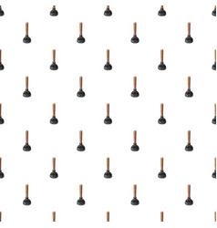 Cup plunger pattern vector