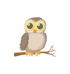Owl icon cartoon style vector image vector image