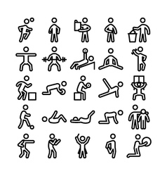 Pictograms icons 6 vector