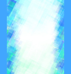 background rectangle blue green abstract vector image vector image