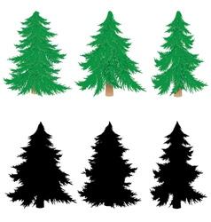 New year tree4 vector