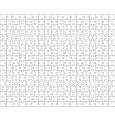 Puzzle classical regular shape background vector
