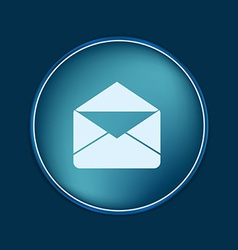 Postal envelope e-mail symbol icon envelope vector