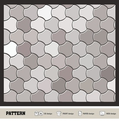 pattern wallpaper silver vector image
