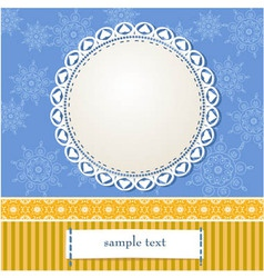 Arabesques Frame Design vector image vector image