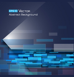 Background with blue rectangles 2 vector