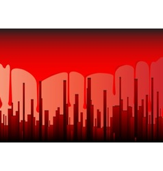 Blood City vector image vector image
