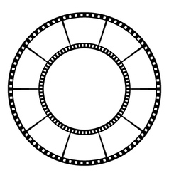 Film tape vector image