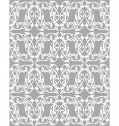 Floral vine pattern vector