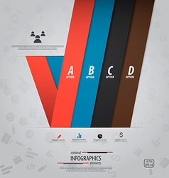infographics design 11 vector image vector image