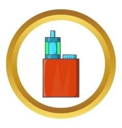 Vaporizer device icon vector